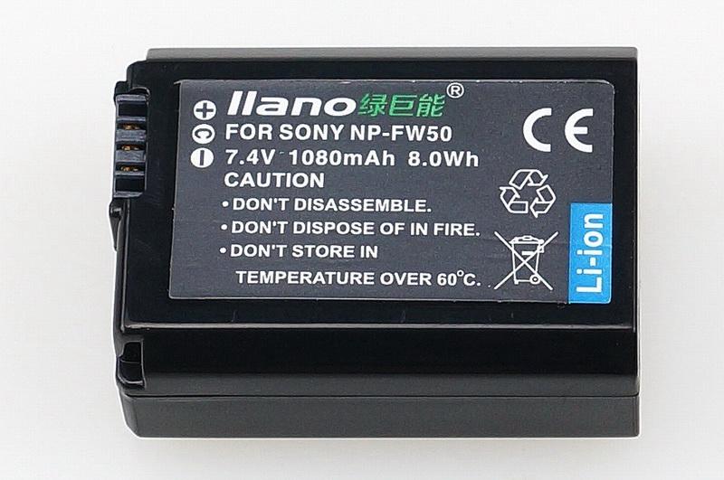 副厂中的豪杰:新版绿巨能NP-FW50索尼微单电池评测