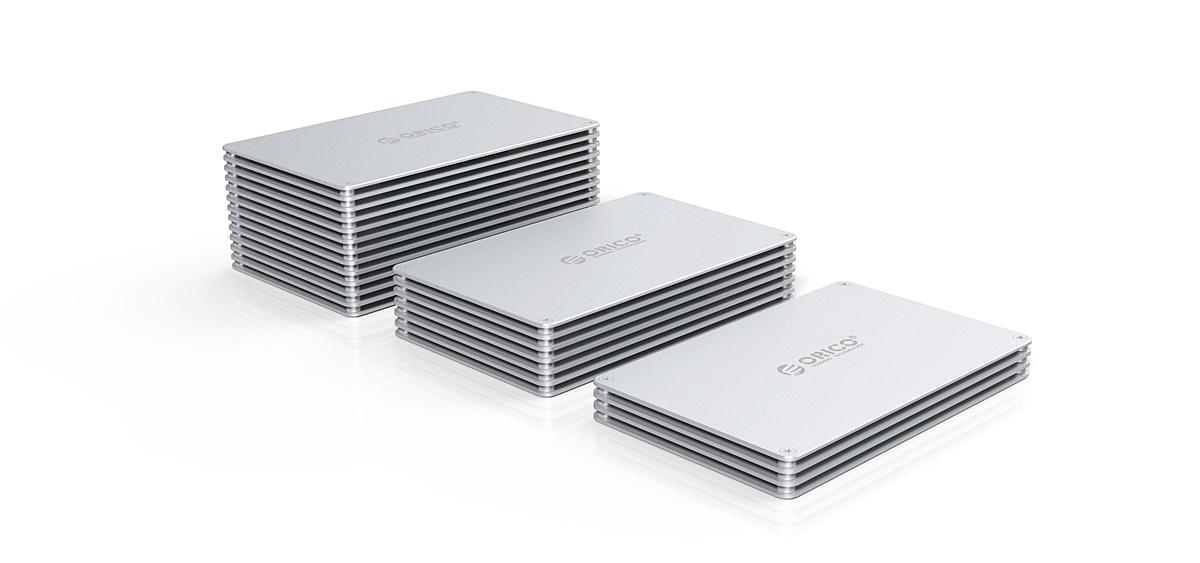 ORICO上架拼装存储硬盘盒:有颜值有实力,还能DIY
