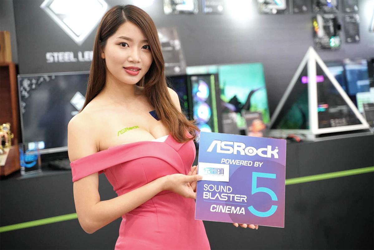 COMPUTEX 2019台北国际电脑展:Showgirl美女图赏汇总