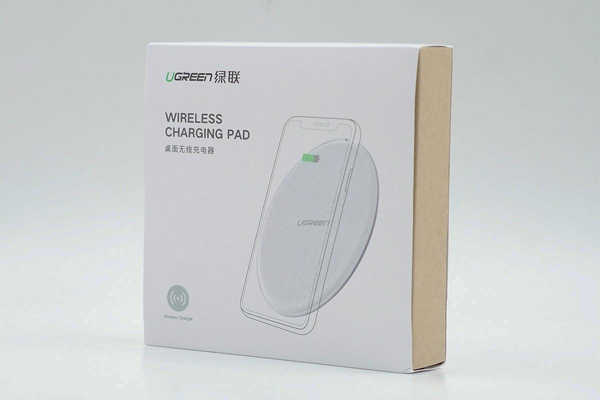拆解报告:UGREEN绿联桌面无线充电器(CD186)