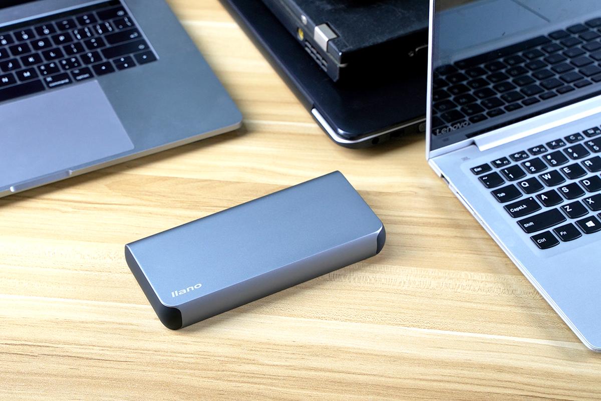 百瓦三口快充强如魔王,绿巨能100W PD笔记本移动电源评测(LJN-YDDY01)