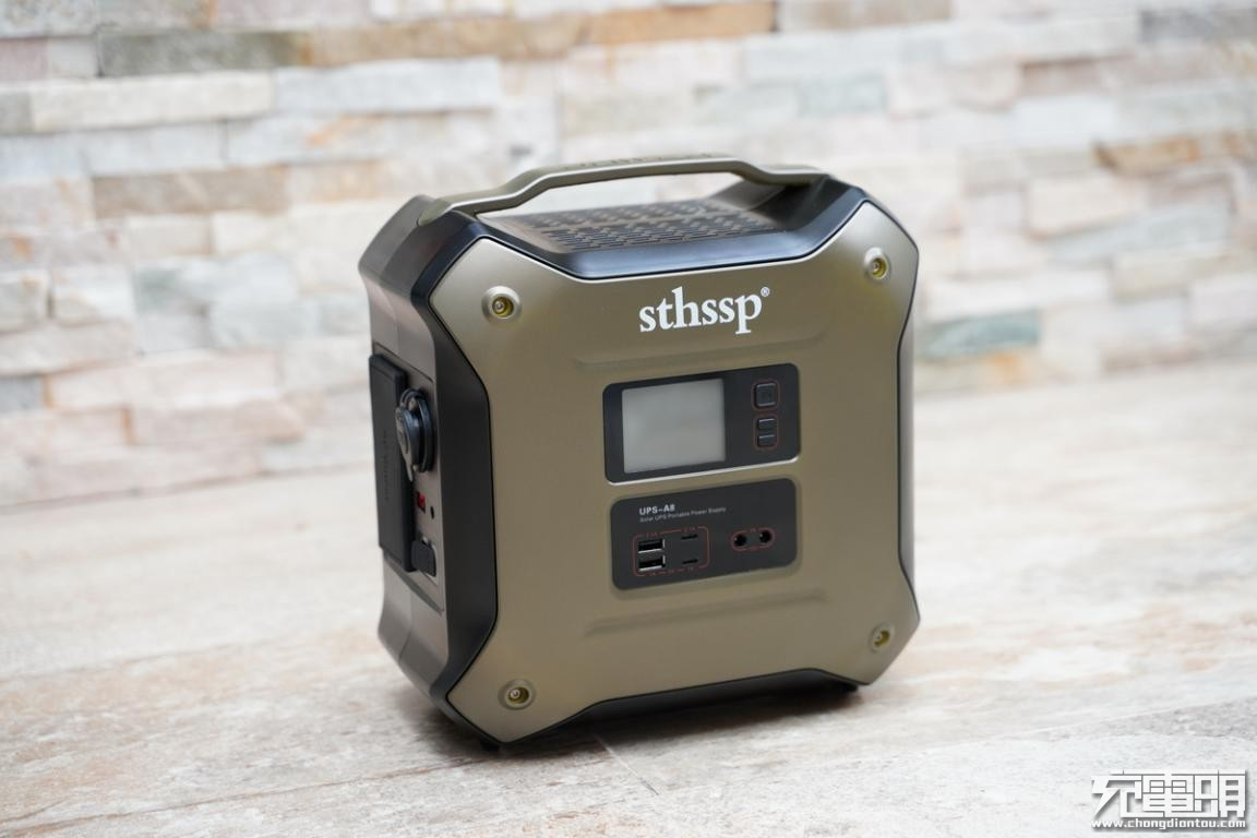 sthssp 500Wh 550W储能电源UPS-A8开箱