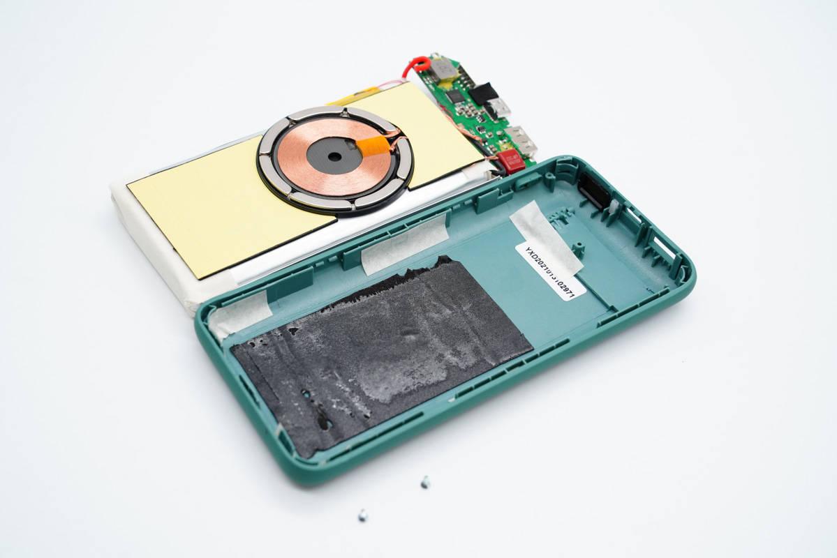 拆解报告:Mcdodo麦多多20000mAh磁吸无线充移动电源MC-864-充电头网
