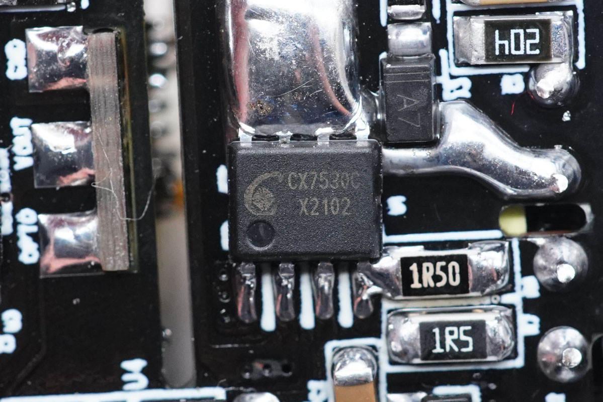 诚芯微量产版30W单口PD快充参考设计评测-充电头网