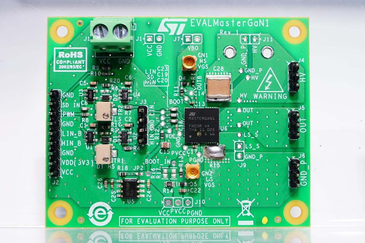 ST意法半导体推出三款半桥氮化镓单芯片-充电头网