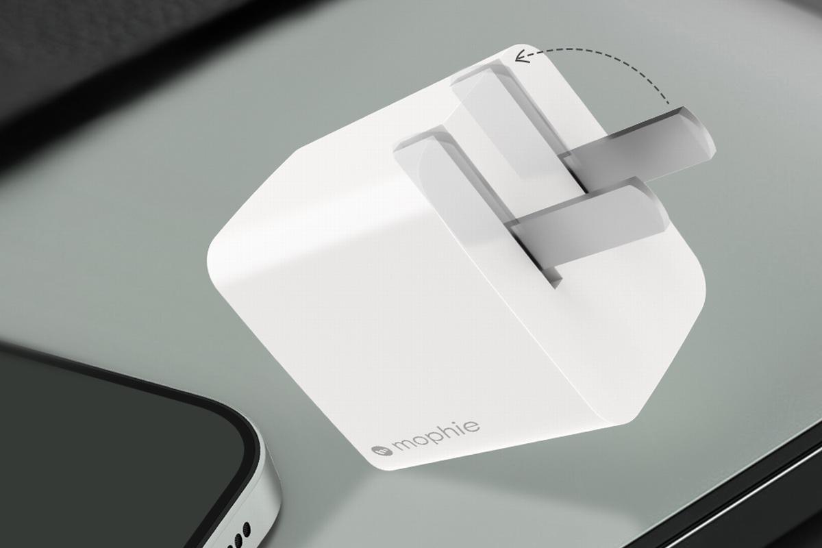 mophie推出20W 1A1C充电器,两台iPhone一起充-充电头网