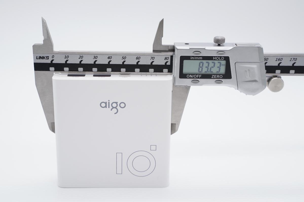 aigo 推出新品国民好物,20W 双向快充充电宝值得入手-充电头网