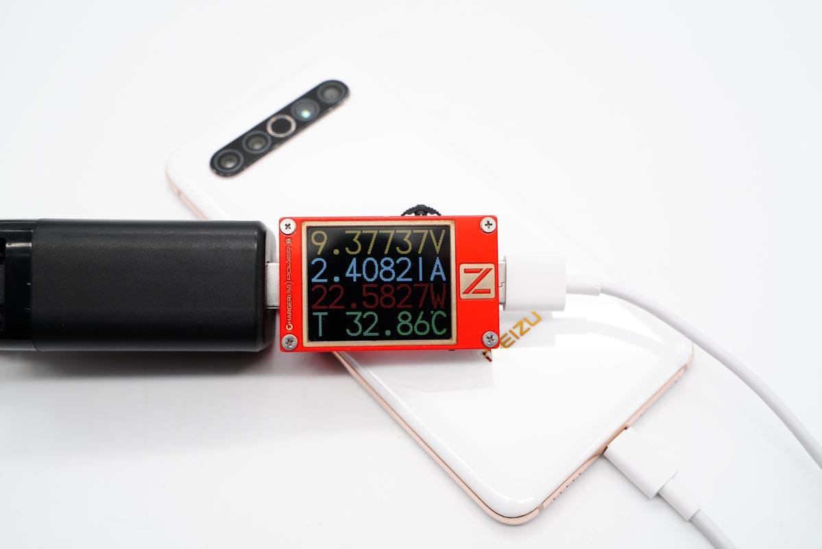 65W+1C1A,支持多国转换插头,PYS鹏元晟65W双口充电器体验评测-充电头网