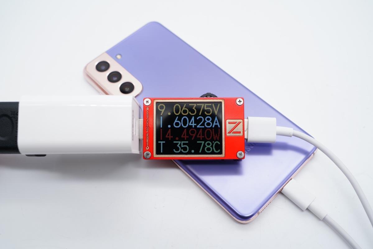 2C1A 充电器,满足你的快充需求,华科生 65W 充电器评测-充电头网