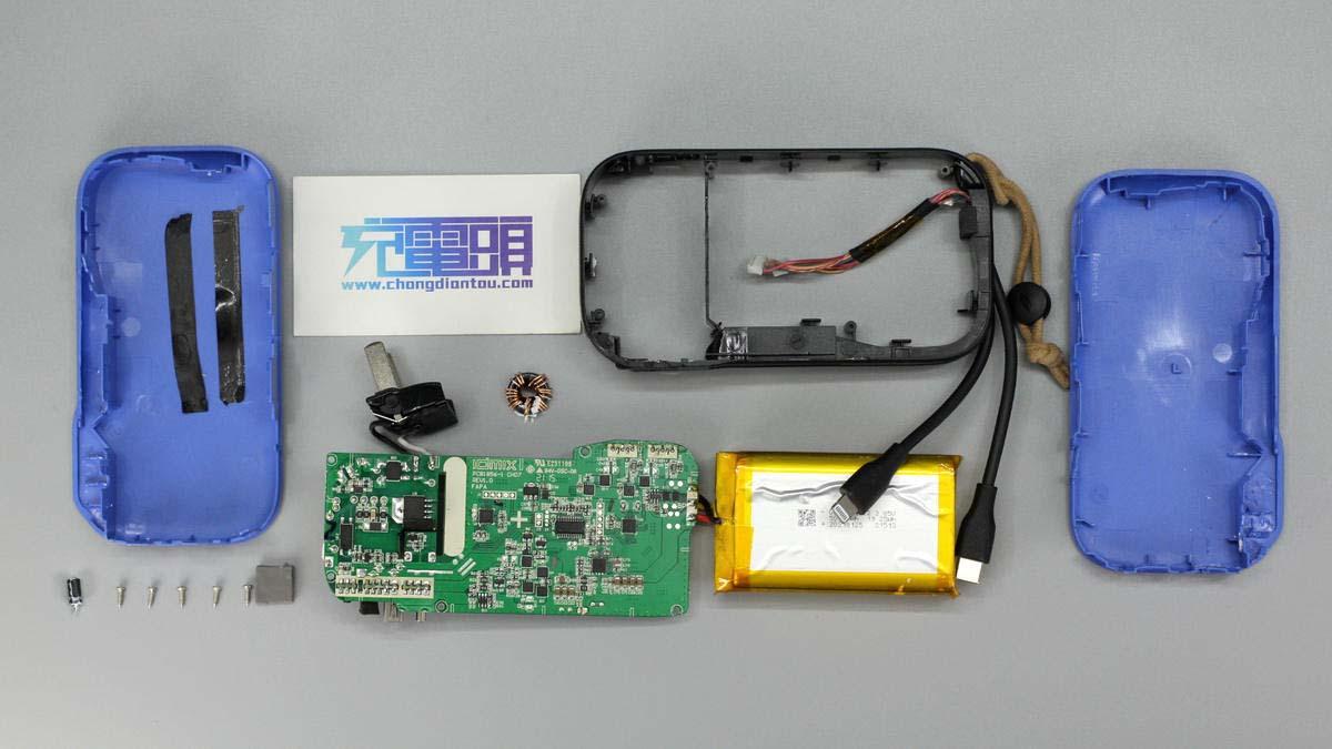 拆解报告:IDMIX大麦MFI认证三合一移动电源CH07-充电头网