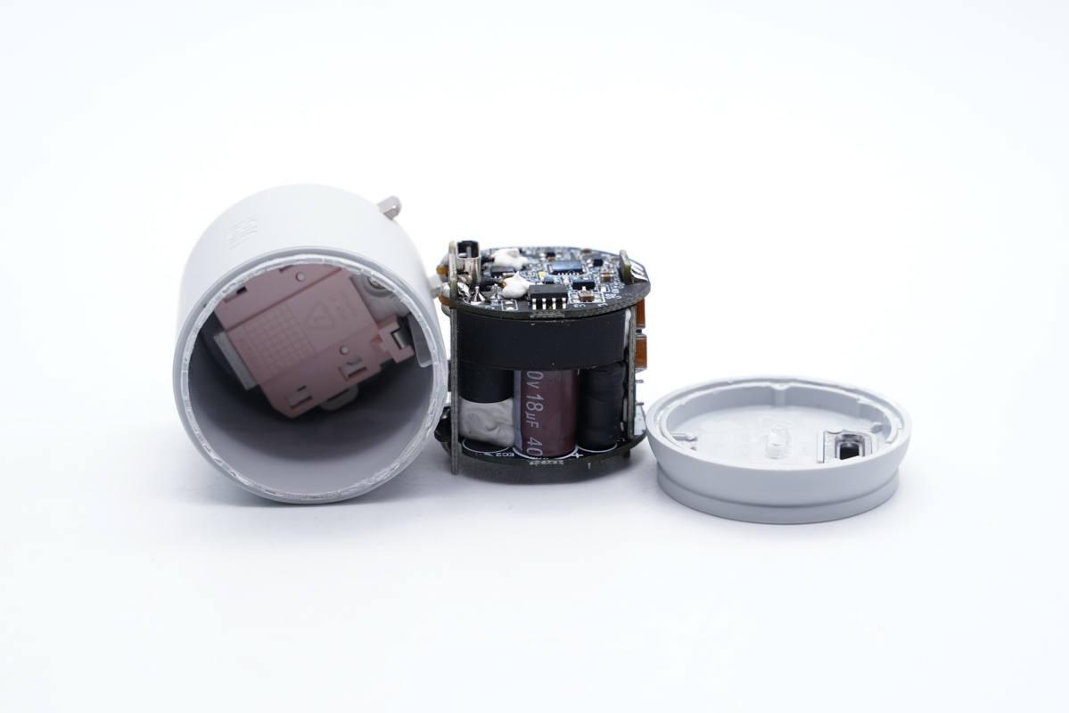 拆解报告:UIBI柚比20W迷你小可乐快充充电器CP20-充电头网