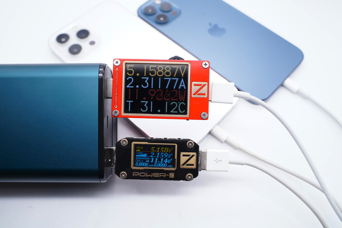 小巧便携,商务范十足!移速65W双向快充充电宝评测-充电头网