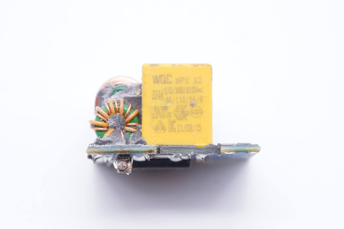 拆解报告:UGREEN绿联65W 2C1A氮化镓快充充电器CD244-充电头网