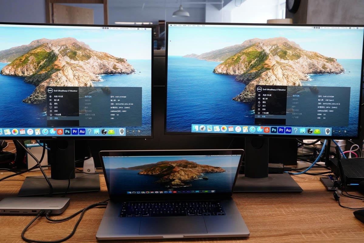 10个接口,支持8K 60Hz输出,绿联雷电3多功能桌面拓展坞评测-充电头网