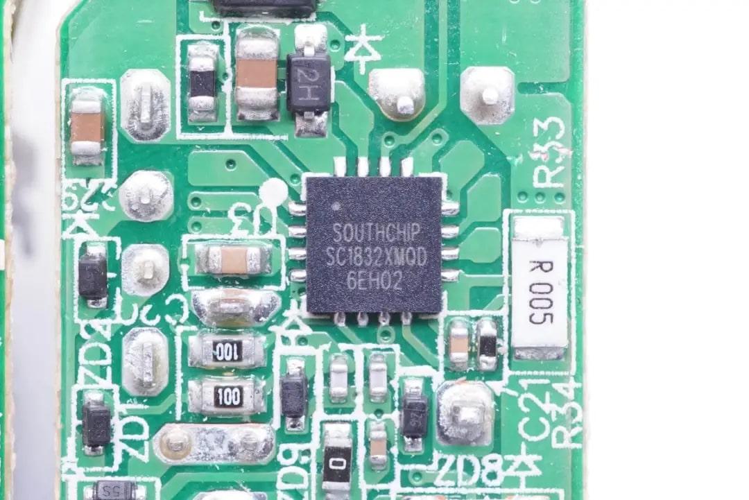 支持VOOC快充,南芯发布SC1832XM快充协议芯片-充电头网