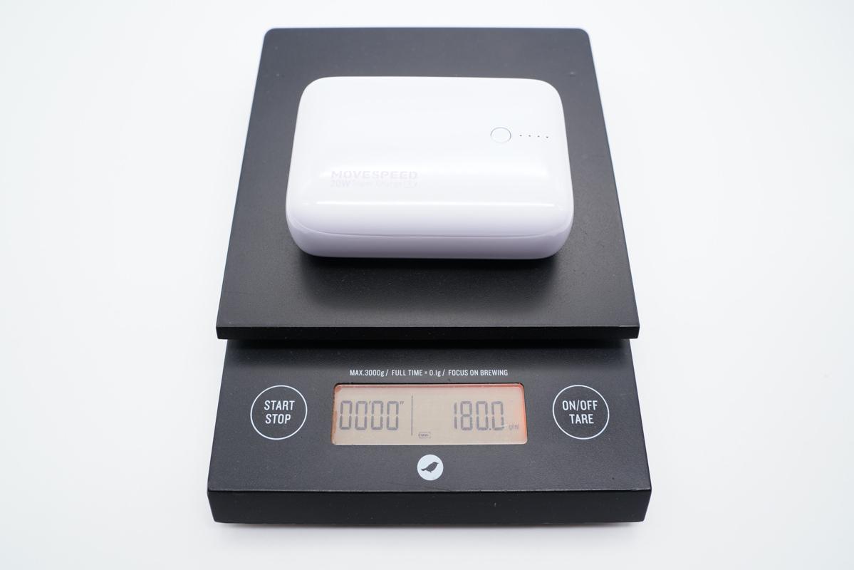 10000mAh的充电宝到底可以有多小?移速20W迷你充电宝评测-充电头网