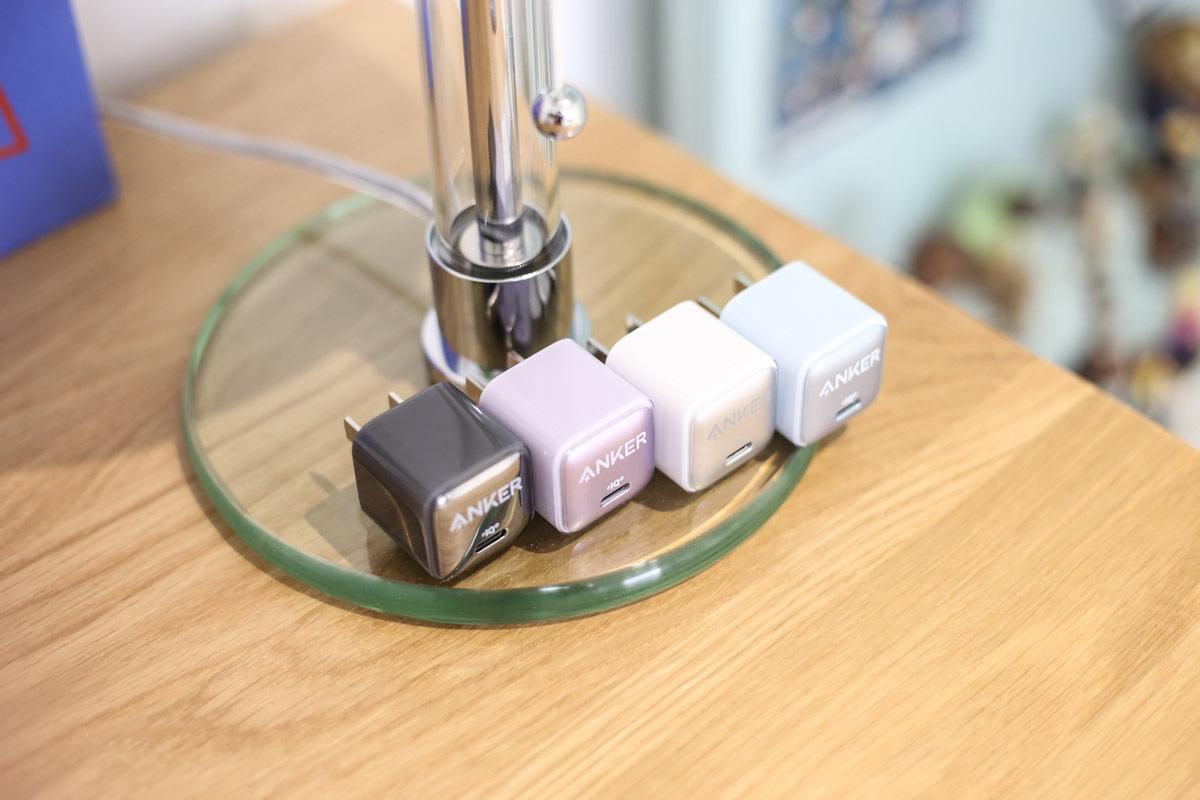 继续打造Nano系列,新款多配色Anker安克安芯充评测-充电头网