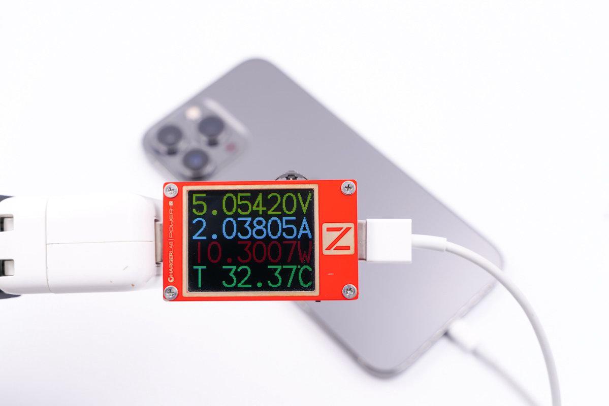 苹果早已标注了快充功率?实测四款iPhone13,别乱买充电器-充电头网